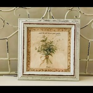 Shabby Chic Mint Picture